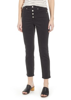 Madewell Slim Straight Leg Jeans (Lunar)