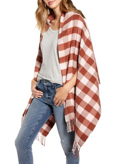 Madewell Small Buffalo Plaid Cape Scarf (Nordstrom Exclusive)