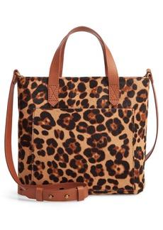 Madewell Small Transport Leopard Calf Hair Crossbody
