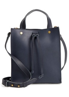 Madewell Small Trick Leather Top Handle Tote