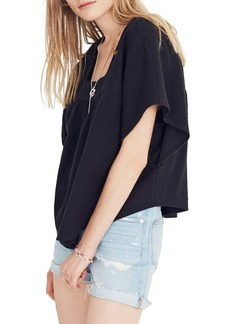 Madewell Solid Butterfly Top