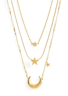 Madewell Sparkler Necklace Set