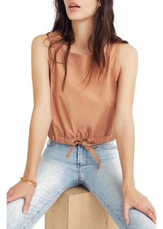 Madewell Square Neck Bubble Tank