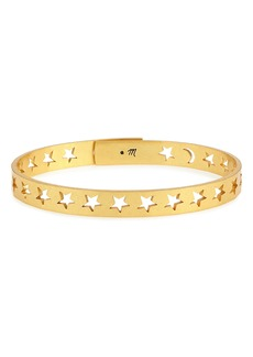 Madewell Star & Moon Bangle Bracelet