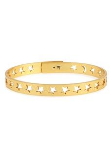Madewell Star & Moon Bangle Bracelet