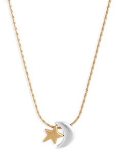 Madewell Star & Moon Necklace