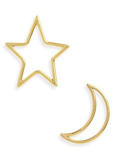 Madewell Star & Moon Statement Earrings