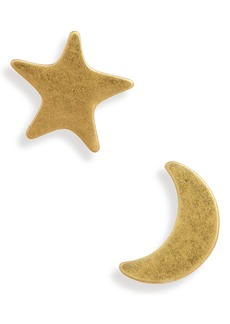 Madewell Star & Moon Stud Earrings