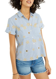 Madewell Star Embroidered Stripe Shirt