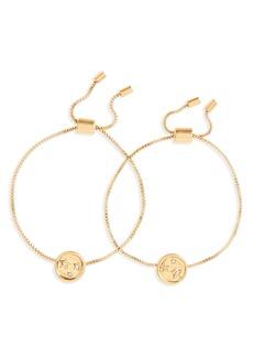 Madewell Star Sparkle Friendship Bracelet Set