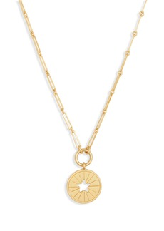 Madewell Star Token Pendant Necklace
