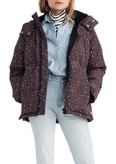 Madewell Starry Night Quilted Puffer Parka