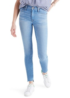 Madewell Step Hem Mid Rise Ankle Skinny Jeans (Centerville)