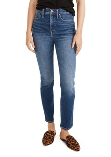 Madewell Stovepipe Jeans (Manchester Wash)