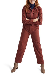 Madewell Straight Leg Coverall Jumpsuit