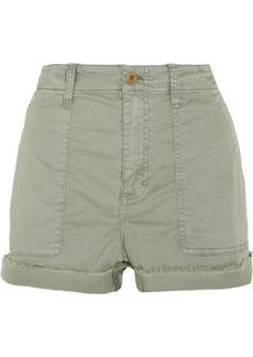 Madewell Stretch-cotton twill shorts