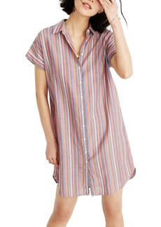 Madewell Stripe Central Shirtdress