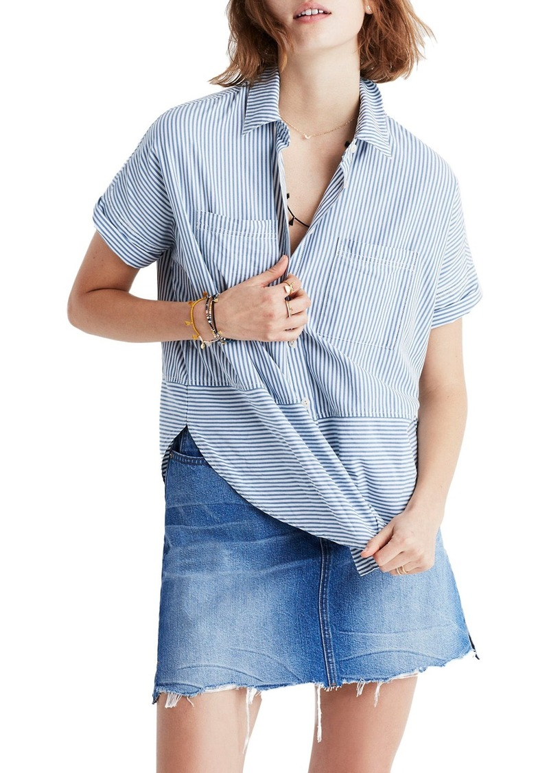 baa654a3 Madewell Madewell Stripe Courier Shirt | Casual Shirts