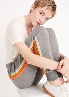 Madewell Stripe Inset Varsity Sweatpants