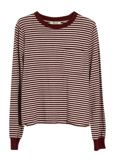 Madewell Stripe Long Sleeve Tee