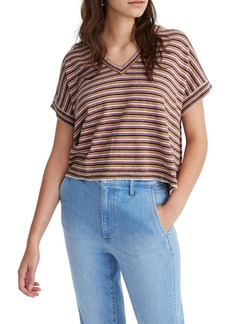 Madewell Stripe Paulson Sweater T-Shirt