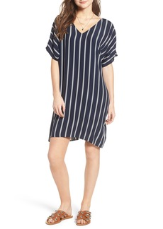 Madewell Stripe Plaza Dress