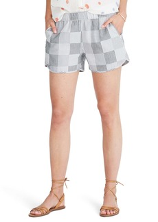 Madewell Stripe Pull-On Shorts