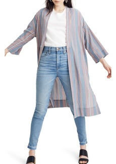 Madewell Stripe Robe Jacket