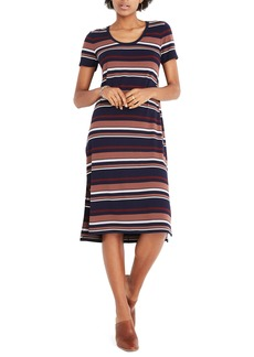 Madewell Stripe T-Shirt Dress