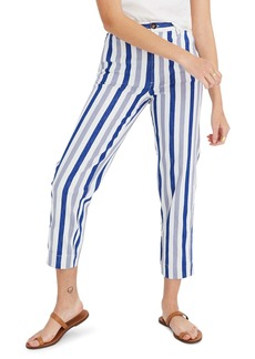 Madewell Stripe Tapered Pants