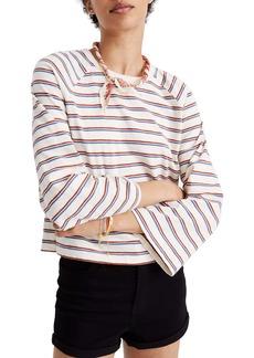 Madewell Stripe Wide Sleeve Tee