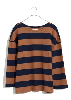 Madewell Striped Luxe Long Sleeve T-Shirt
