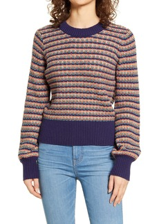 Madewell Striped Tensley Pullover Sweater