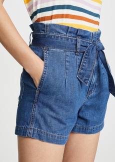 Madewell Structured Paperbag Shorts