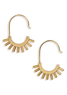 Madewell Succulent Drop Earrings