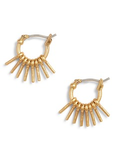 Madewell Sunflare Hoop Earrings