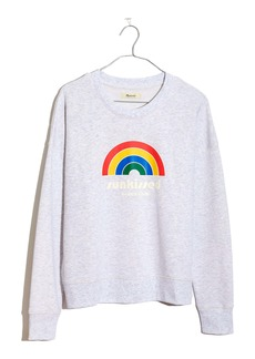 Madewell Sunkissed Beach Club Graphic Sweatshirt