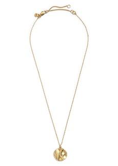 Madewell Sunnyside Coin Pendant Necklace