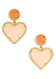 Madewell Sweetheart Statement Earrings