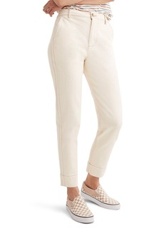 Madewell Tapered Crop Pants