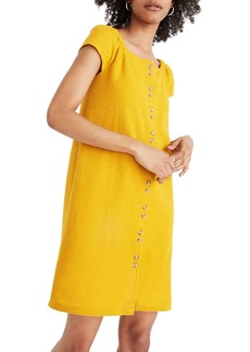 Madewell Texture & Thread Cap Sleeve Dress