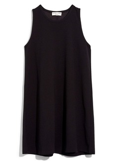 Madewell Texture & Thread Crepe Swingy Tank Dress