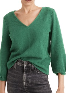 Madewell Texture & Thread Full Sleeve Top