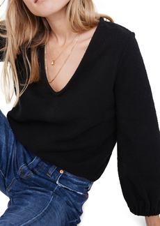 Madewell Texture & Thread Full Sleeve Top