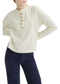 Madewell Texture & Thread Seamed Henley