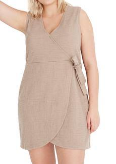 Madewell Texture & Thread Side Tie Minidress