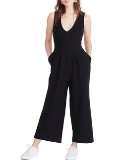 Madewell Texture & Thread Wide Leg Jumpsuit
