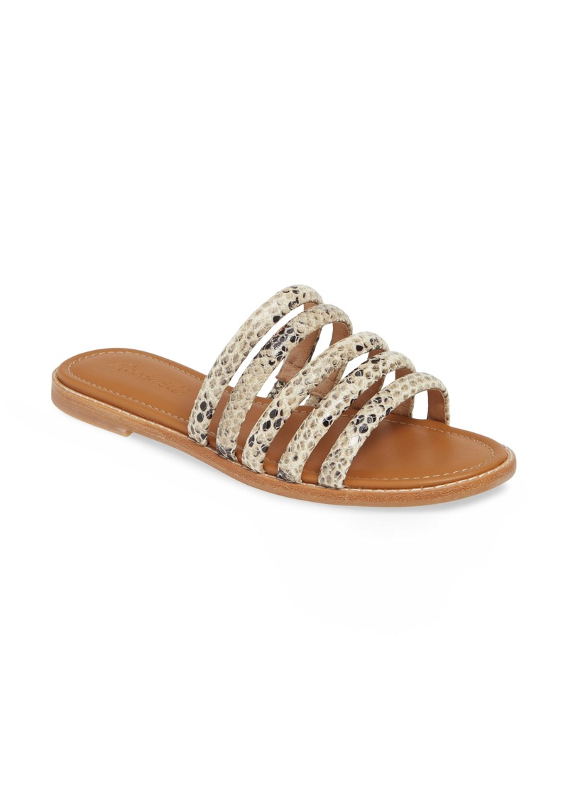 285664952ff Madewell Madewell The Addie Slide Sandal (Women)