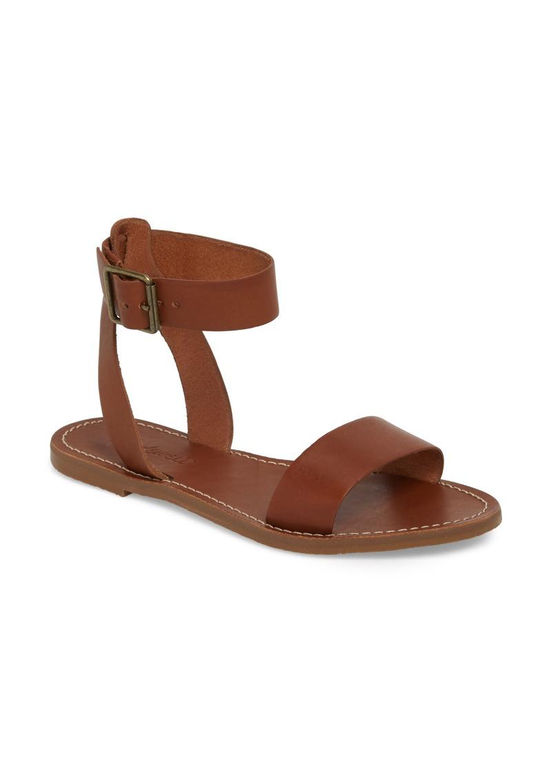 8b03337ec015 Madewell The Boardwalk Ankle Strap Sandal Women Shoes