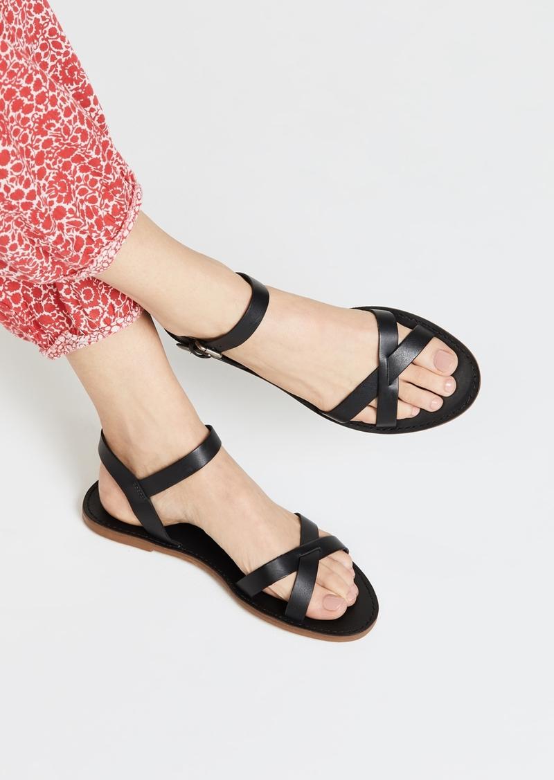8b185f7ff0e4 Madewell Madewell The Boardwalk Crisscross Sandals